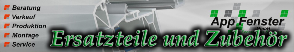 Ersatzteile für Fenster-Logo